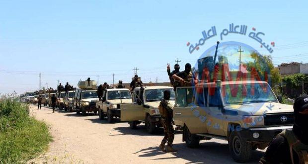 قوة من الحشد تلقي القبض على إرهابيين اثنين شاركا بتفجير سيارة مفخخة في تلعفر