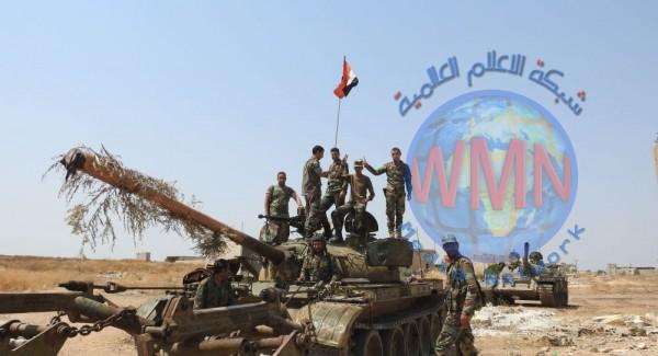 الجيش السوري يسيطر على قرية ترعي وتلتها الاستراتيجية شرق خان شيخون