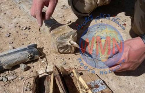 تفكيك صاروخين ورمانات هجومية معدة للتفجير شمالي بغداد