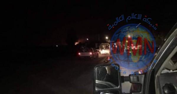 الحشدالشعبي ينفي انباء قطع طريق كركوك – بغداد بعد احباط تعرض لداعش
