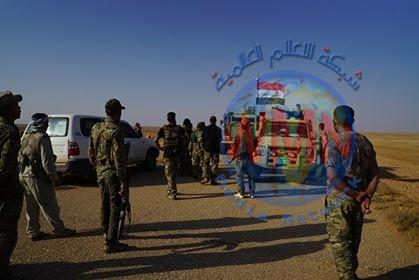 اللواء 17 بالحشد يطهر مطارا وقريتين وصولا إلى الحدود العراقية السعودية