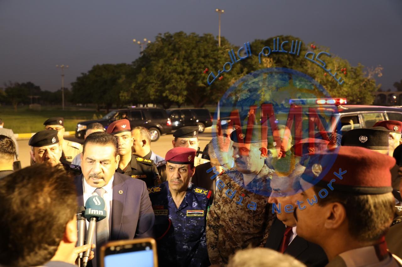 الفريق الركن محمد البياتي يشارك وزير الداخلية في  إعادة تأهيل 150 دورية للنجدة