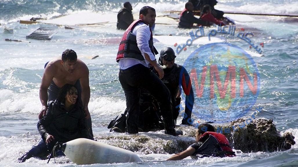 البحرية الليبية تعلن انقاذ 71 مهاجراً غير شرعي على متن قارب مطاطي