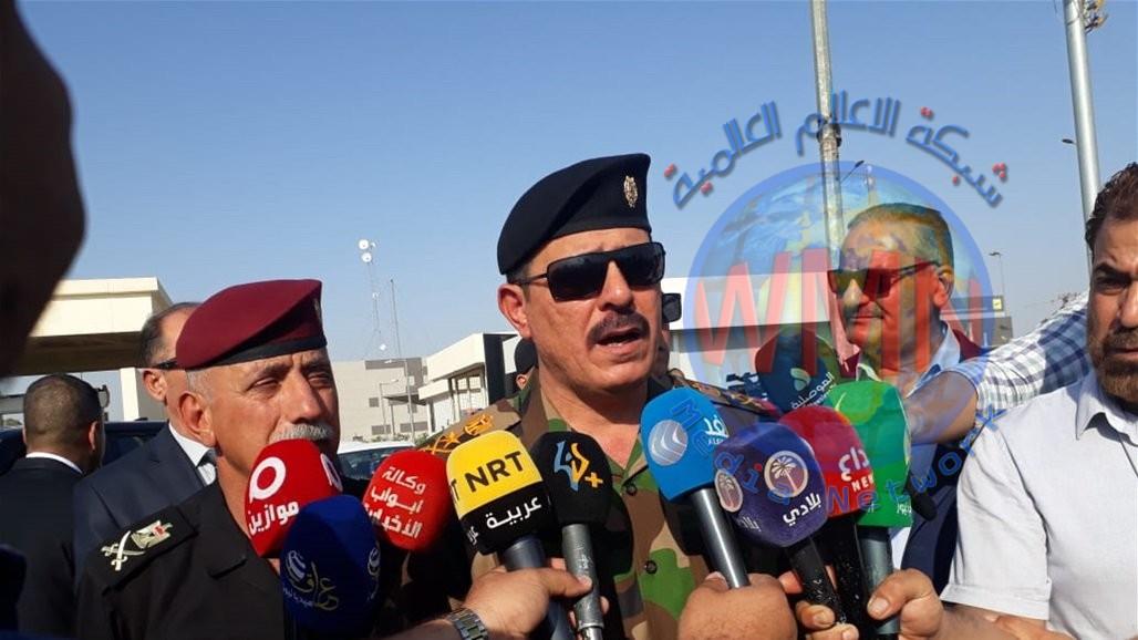 الفريق الركن محمد البياتي يوكد للفلاح العراقي انشاء المستودعات والصوامع لاستلام محصول الشلب