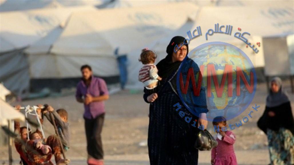 الهجرة تعلن عودة 1326 نازح الى الموصل واطراف نينوى