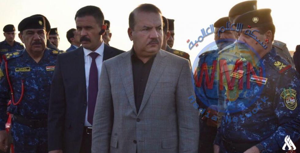 وزير الداخلية يطلع على تدريب الشرطة الاتحادية