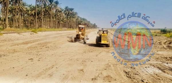 المباشرة بتنفيذ مشروع سكة حديد مزدوجة ضمن خط بغداد – بصرة جنوبي العاصمة
