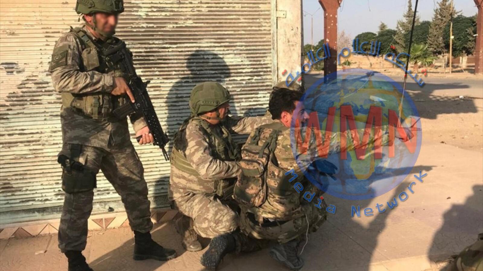 الجيش الوطني السوري يسيطر على بلدة سلوك بريف الرقة