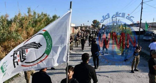 قيادة عمليات الحشد الشعبي في نينوى تعلن نجاح خطتها الأمنية للزيارة الأربعينية