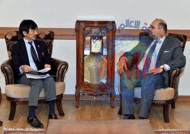 العراق واليابان يبحثان التنسيق المُشترك في أعمال الدورة (74) للجمعيّة العامة للأمم المتحدة