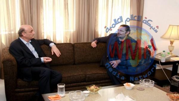 جعجع يدعو الحريري لتشكيل حكومة لبنانية جديدة