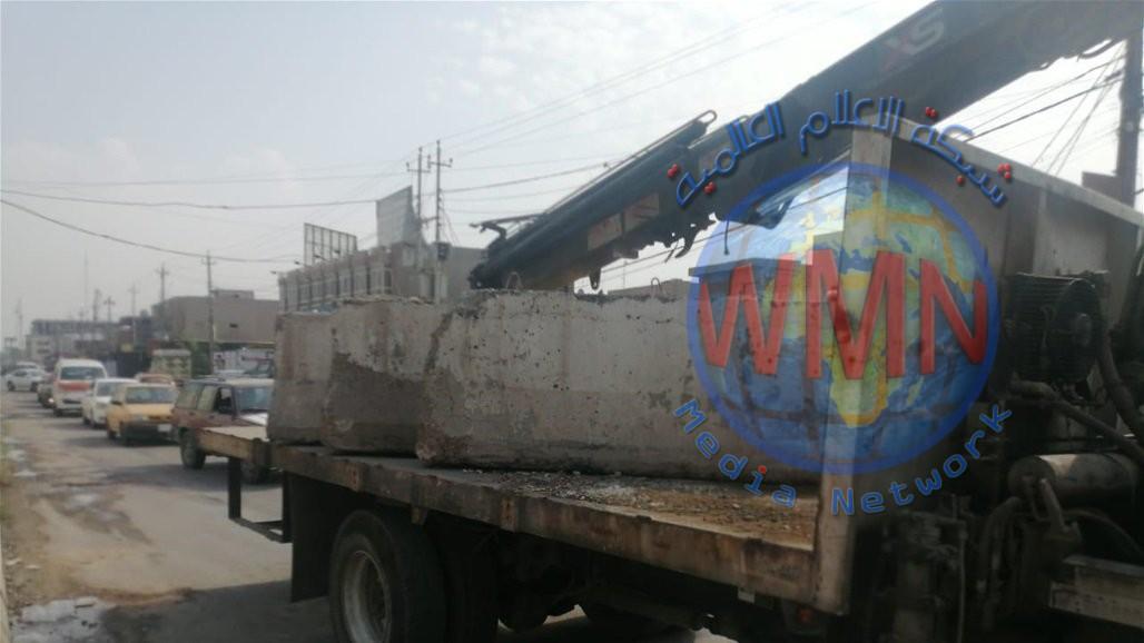 افتتاح طريق مغلق منذ 2007 جنوب بغداد