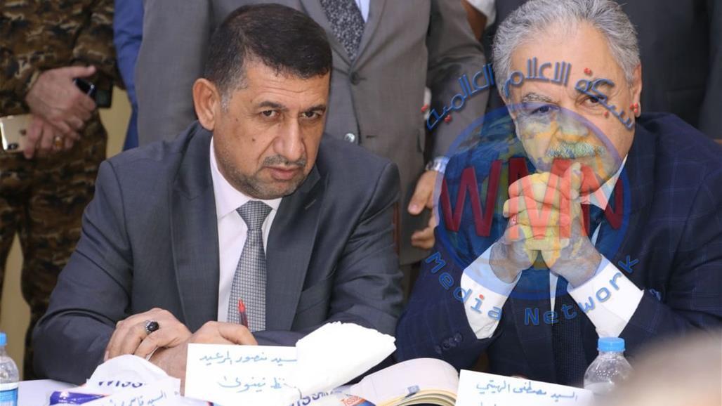 محافظ نينوى: تخصيص 100 مليار دينار اضافية لتمويل مشاريع خدمية