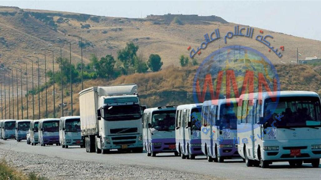 500 كردي سوري يصلون الى العراق