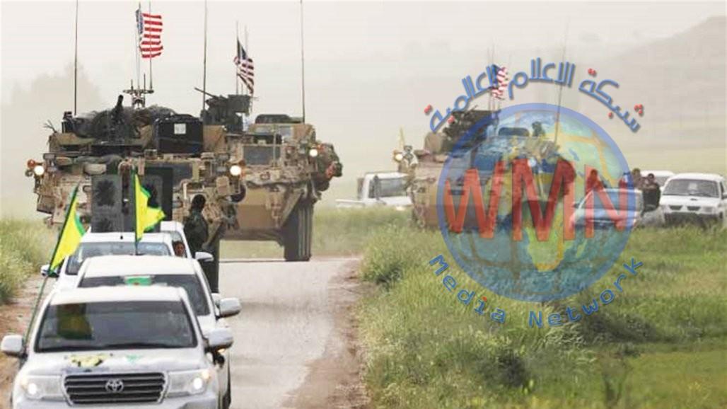 قافلة أمريكية تدخل سوريا قادمة من العراق