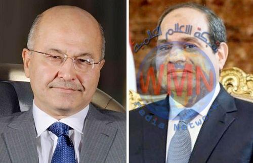 صالح والسيسي يتفقان على مواجهة التدخل التركي في سوريا