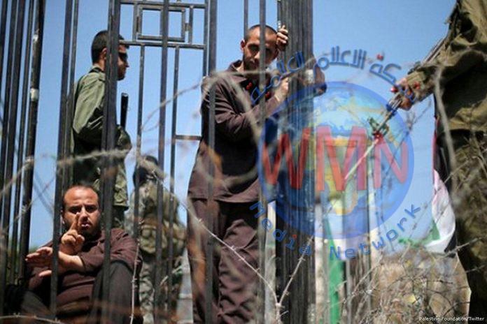 الأسرى الفلسطينيون يعلنون الاضراب عن الطعام لمدة 3 أيام