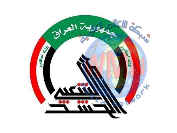 """الحشدالشعبي يحرق مضافتين ودراجات نارية تابعة لـ""""داعش"""" شرق صلاح الدين"""