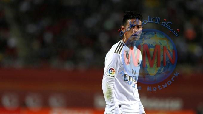ريل مدريد يصدر بياناً بشأن إصابة نجمه الكولومبي