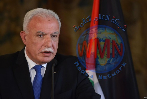 """وزير خارجية فلسطين يكشف الانحياز الأمريكي لـ""""إسرائيل"""" بـ9 قرارات"""