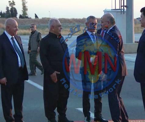 برهم صالح في أربيل لبحث التعديلات الدستورية ووضع العراق