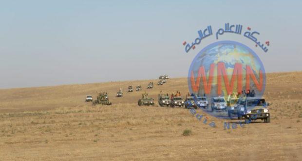 """الحشد الشعبي يقتل """"داعشيا"""" ويفجر 20 مضافة  ضمن قاطع شرق دجلة"""