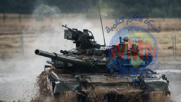 استكمال المرحلة الأولى من توريد دبابات {تي 90} الروسية للعراق