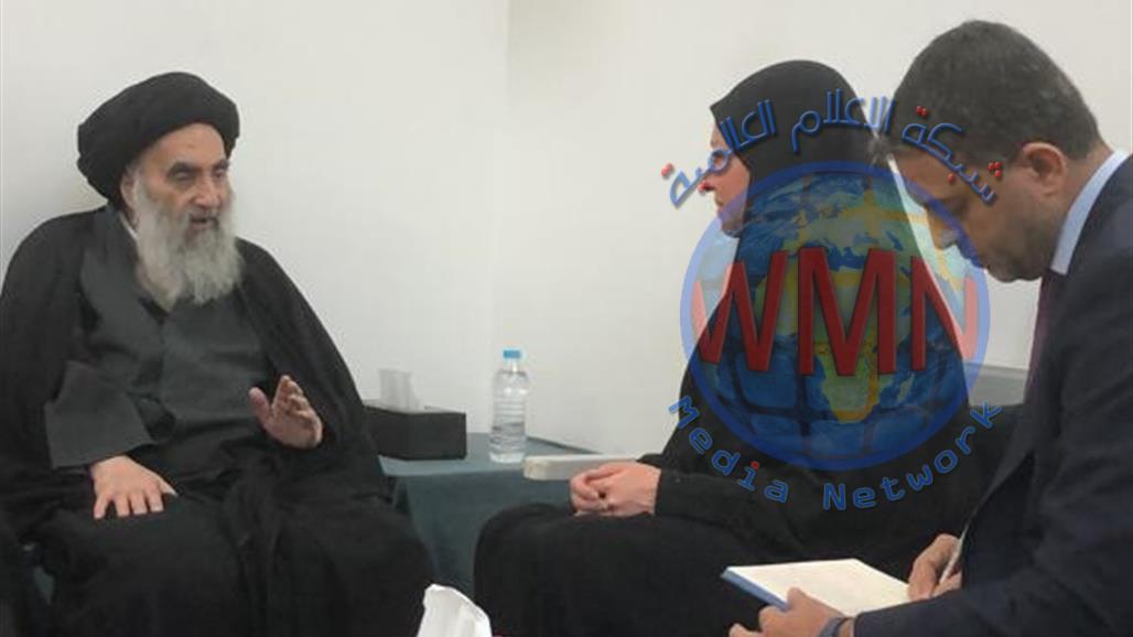 نص بيان المرجع السيد السيستاني بعد لقائه بلاسخارت