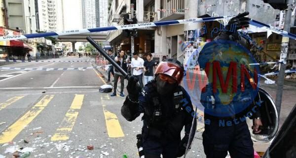 فوضى في هونغ كونغ.. وإطلاق النار على المحتجين