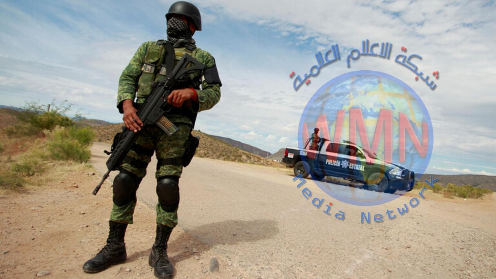 مصرع 14 شخصا في اشتباكات بين الشرطة وتجار المخدرات في المكسيك