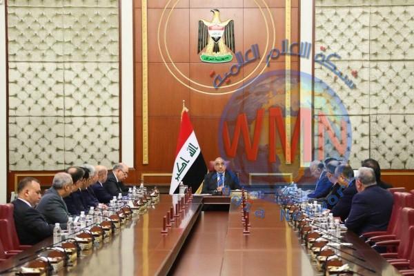 """عادل عبد المهدي يعلن استمرار حكومته """"تصريف الاعمال"""" لحين تشكيل الحكومة المقبلة"""