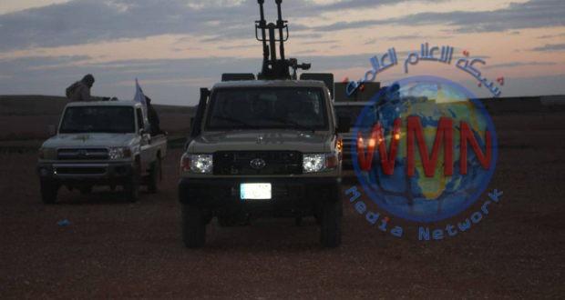 اللواء 19 بالحشد الشعبي ينتهي من تأمين وتفتيش الحدود مع سوريا غرب الأنبار