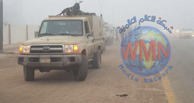 اللواء 16 في الحشد والاتحادية ينفذان عملية امنية لملاحقة فلول داعش جنوب كركوك