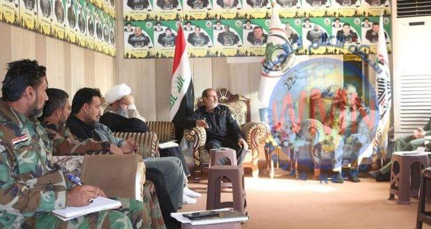 آمر اللواء 22 بالحشد يؤكد ضرورة الحفاظ على مكتسبات النصر التي تحققت بدماء الشهداء