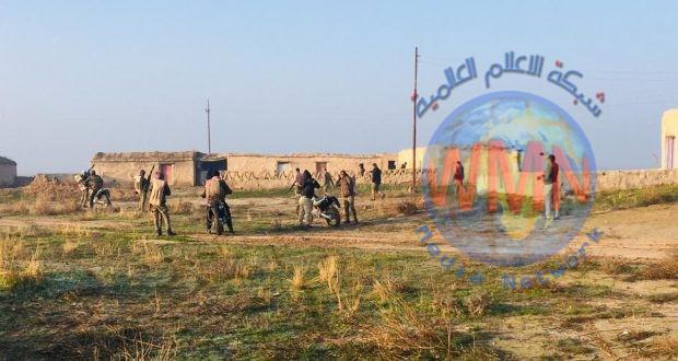 """الحشد الشعبي يطهر سبع مناطق ويدمر أنفاقا ومضافات لـ""""داعش"""" في صلاح الدين"""