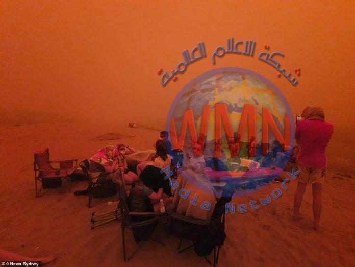 أستراليا : آلاف السكان يلجؤون للشواطئ بسبب جمر سماوي
