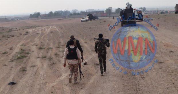 الحشد والجيش ينفذان عملية أمنية لتفتيش المناطق المحاذية للكرمة