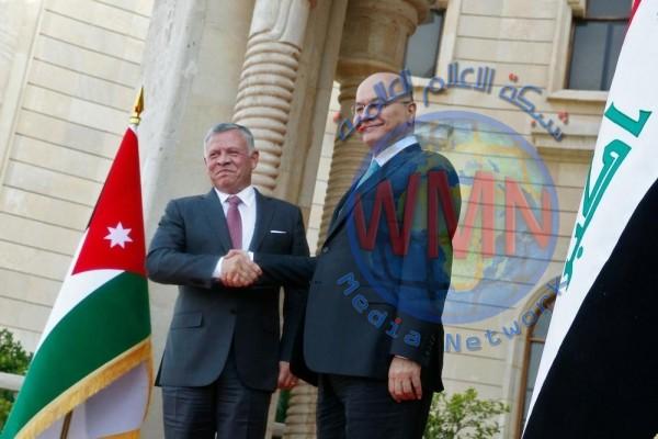ملك الاردن يؤكد دعم بلاده عودة الاوضاع في العراق الى مسارها الطبيعي