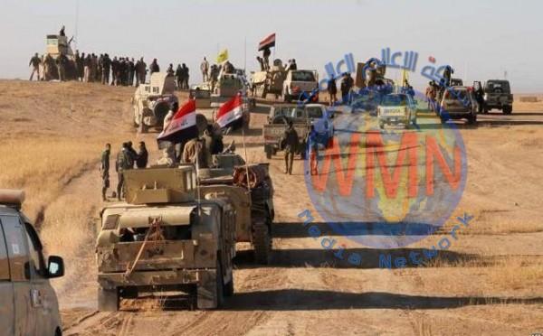 القوات الأمنية والحشد الشعبي يشرعان بعملية عسكرية في ديالى لتعقب خلايا داعش