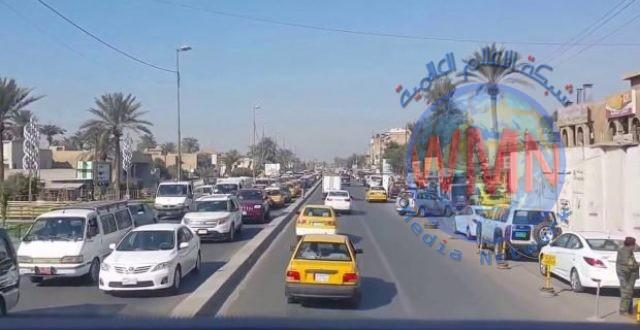 تعرف على الطرق المغلقة ومناطق الزخم المروري في بغداد
