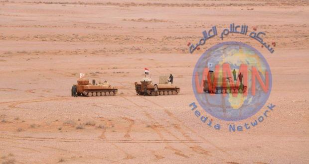 اللواء 26 بالحشد الشعبي يفتش ٢٠٠٠كم٢ من الصحراء الغربية