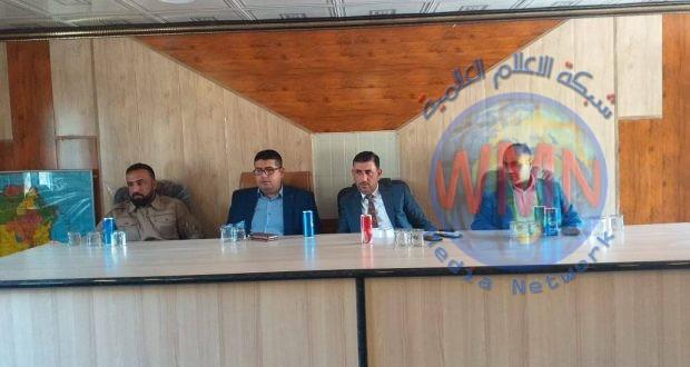 الحشدالشعبي والقوات الأمنية والعشائر يعقدون اجتماعا تنسيقيا للتعاون الامني في صلاح الدين