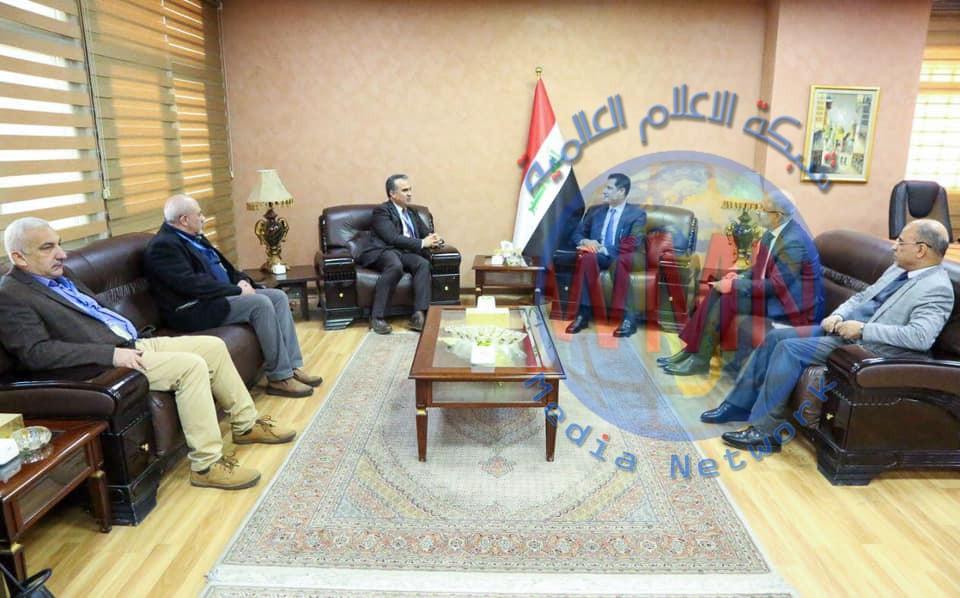 وزير التخطيط يبحث سبل تحسين الواقع الزراعي في العراق مع منظمة الأغذية والزراعة الأممية (FAO)