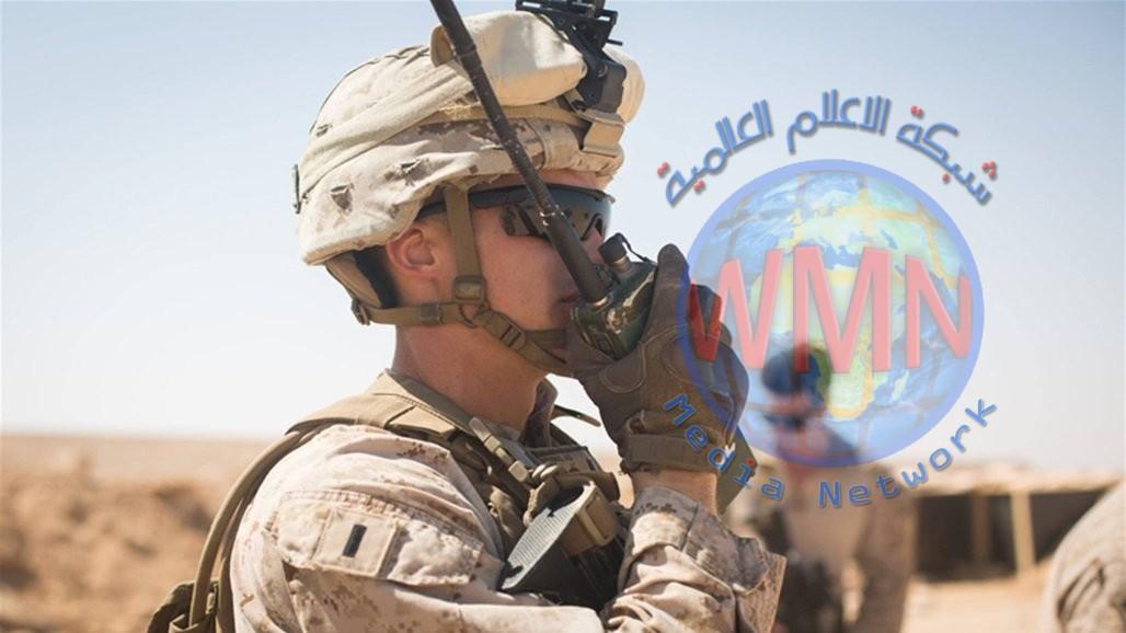 استهداف عين الاسد بصواريخ غرب الانبار