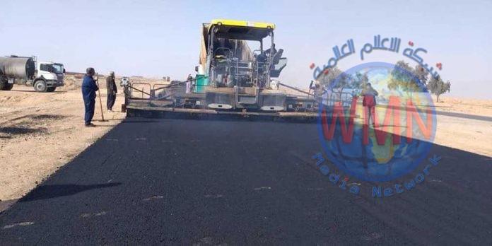 المباشرة بالمرحلة الثانية من مشروع طريق كربلاء – الرزازة