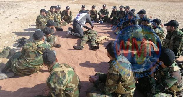 بالصور.. اللواء الأول يفتتح دورة في الطبابة والتدريب البدني