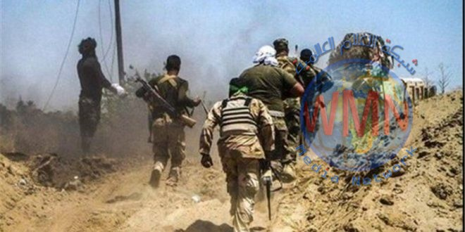 اصابة أحد ابطال اللواء 46 بالحشد الشعبي اثر انفجار عبوة ناسفة بين جرف النصر والرزازة