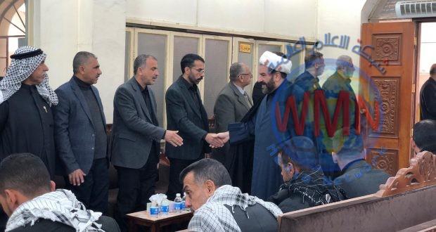 عائلة الشهيد المهندس تقيم مجلسا تأبينياً لمرور أربعين يوماً على استشهاد القادة في بغداد