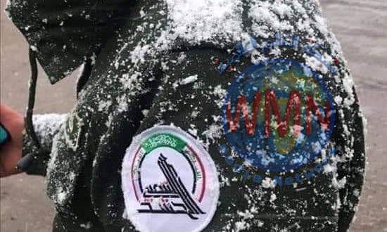 مقاتل في الحشد الشعبي يستشهد اثناء أداء الواجب في الموصل بسبب البرد