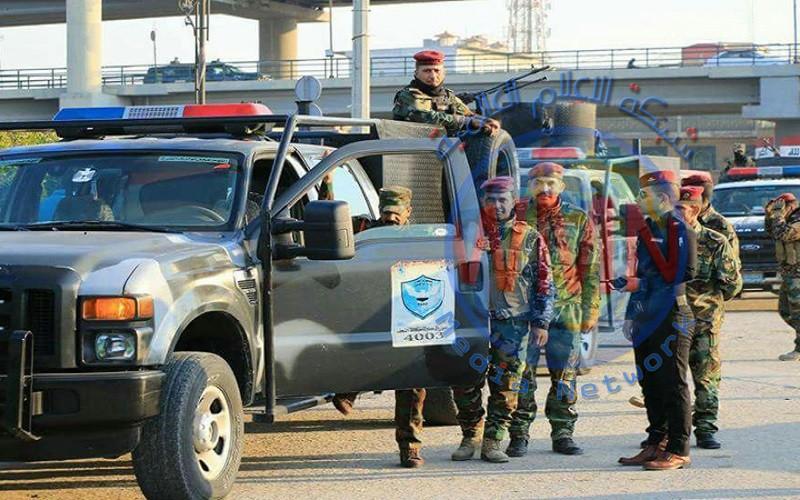 القوات الامنية تفرض سيطرتها في ساحة الصدرين وسط النجف